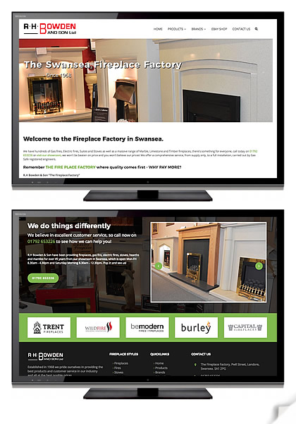 The Fireplace Factory - Click here to visit website